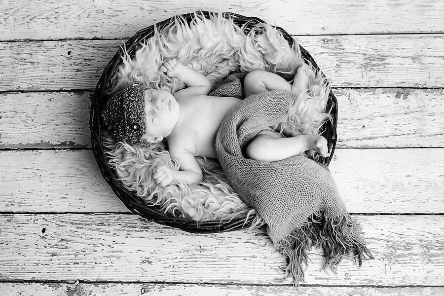 Babybilder im Studio