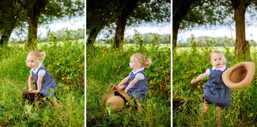 Kinderfotos in der Natur