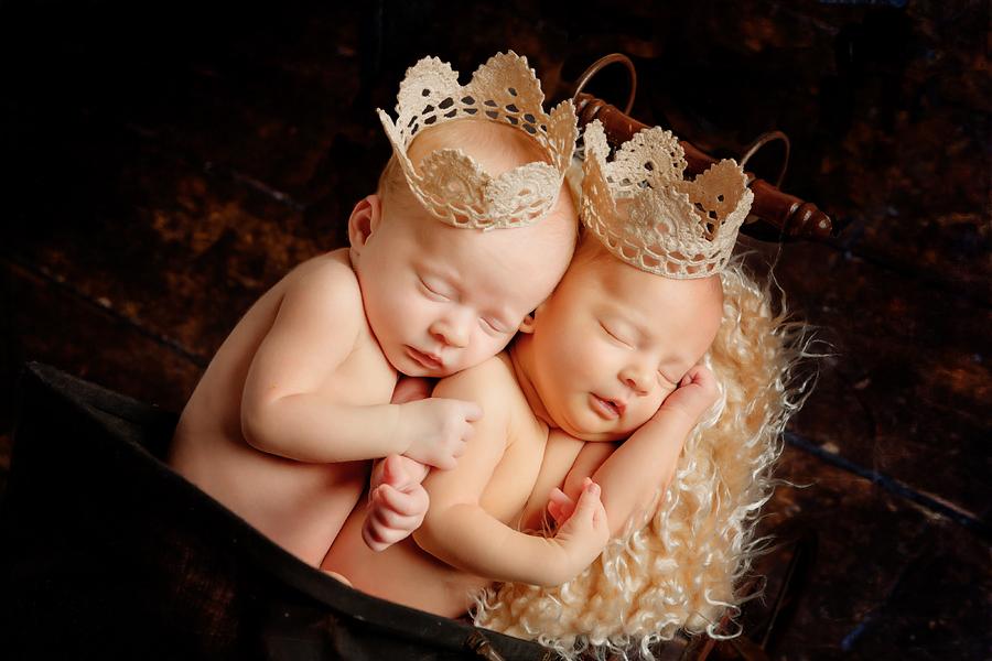 Prinzessinnen im Fotostudio