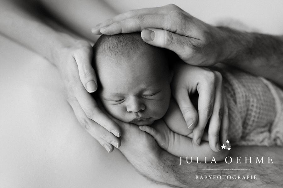 baby in händen von mama und papa neugeborenenfotos julia oehme